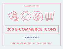 Line Icons – E-Commerce