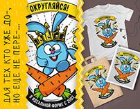 """""""В идеальной форме"""": принты для Смешариков"""
