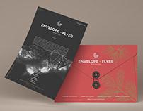 Free Envelope Flyer Mockup PSD