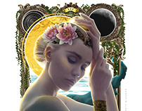 The Empress III part of my ongoing Barot™ deck