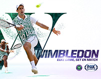 Wimbledon 2015 - FOX Sports (NL)