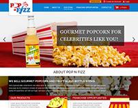 Popnfizz Company Website Design