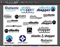 WIP: Logo Ideas for Atlantic Shopper