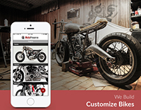 Moto Preserve - Customize Bike App