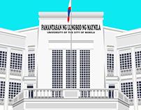 University of the City of Manila (PLM) - Vector Art