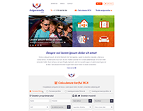 Insurance Calculator Responsive Website