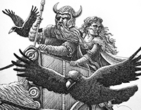 Odin and Freya
