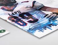 LAPD Centurions graphic design