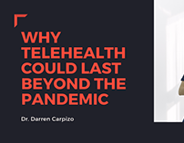 Why Telehealth Could Last Beyond The Pandemic