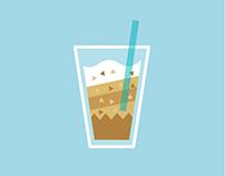 coffee short video/illustration