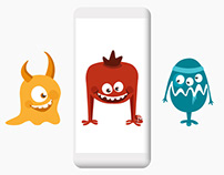 Monster Lunch game for mobile