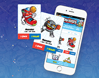 Smashers Collectors App for Android and iPhone