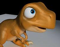 Orange Dino