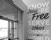 Calera Campus Vision Statement Wall Art