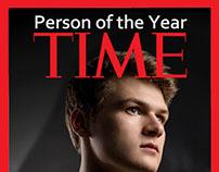 Time man portrait