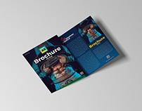 Free Brand A5 Tri-Fold Brochure Mockup