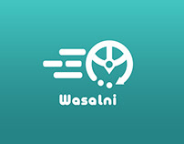 Wasalni - وصلني / a suggested logo
