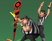 Football Referees for 1st & Goal