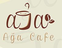 LOGO AGHA CAFE -لوغو أغا كافي