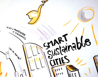 Graphic Recording United Smart City Lab Vienna