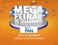 Mega Feirão de Seminovos Banco Pan