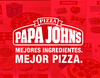 PAPA JOHNS - MENU BOARDS