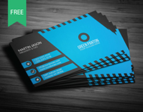 Corporate Business Card | Freebie