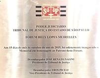 Inauguração do Memorial -  Dr. Hely Lopes Meirelles