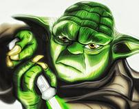 Illustration: Master Yoda