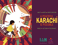 'A Peaceful Karachi is Possible' Campaign