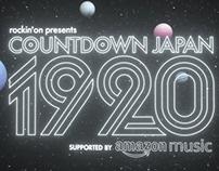 COUNTDOWN JAPAN1920