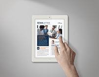 InDesign Template for iPad: Newsletter