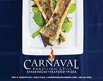 Carnaval Brazilian Grill Advertising