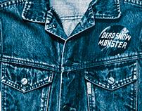 / DEAD SNOW MONSTER LP & SINGLES COVERS /