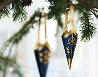 Prototypes of christmas deco, Danske Bank