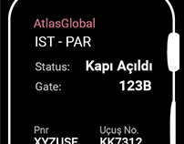 Atlas Global SmartWatch Interaction Design