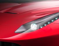 Ferrari F12 Berlinetta - CGI 3D