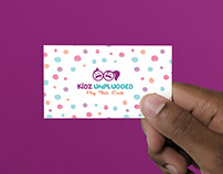 KidzUnplugged | Corporate Identity
