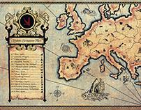 KSHMR: KSHMR Europe Tour (Print/Online Print Campaign)