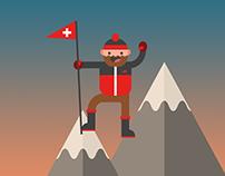 Tourist Swiss Map / Mapa Turístico de Suiza