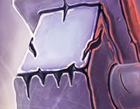 Monsters in Machines - Experimental digital painting