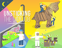 Design Dialogues - Unsticking your day job