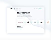 Code Peter - UX & Branding 2018