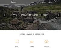 Dream Website Redesign