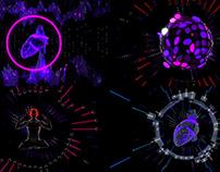 Neon Dream - VJ Loop Pack (4in1)