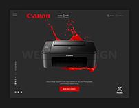 Canon CIS - Website Design