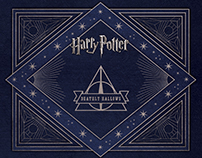 Harry Potter: Deathly Hallows Stationery Set Packaging