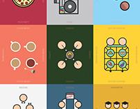 Icon design: