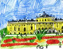austria trip sketches