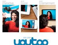 Youtoo Social TV Magazine Ads